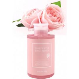 Тонер Secret Key с экстрактом розы Rose water base toner 550мл