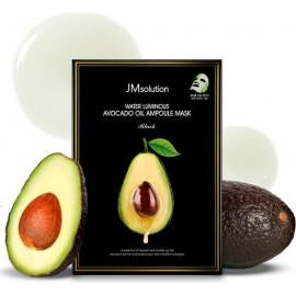Тканевая маска Jmsolution увлажняющая с экстрактом авокадо Water Luminous Avocado Nourishing In Oil Mask в Беларуси