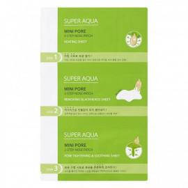 Очищающий патч для носа MISSHA Super Aqua Mini Pore 3Step Nose Patch 1 шт