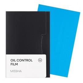 Матирующие салфетки для лица MISSHA Oil Control Film Blue 50 шт