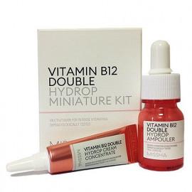 Набор MISSHA Vitamin B12 Double Hydrop сыворотка, концентрированный крем для лица