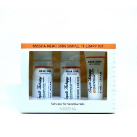 Набор MISSHA Near Skin Simple Therapy тонер, лосьон, крем для лица