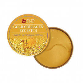 Гидрогелевые патчи SNP с коллагеном и частицами золота Gold Collagen 60 шт