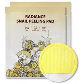 Пилинг-пэд SEANTREE с муцином улитки Radiance Snail Peeling Pad 20 мл c бесплатной доставкой