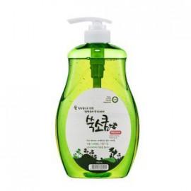 Средство для мытья посуды Ssook Soo Qoom Dish wash detergent в бутылке с дозатором 750 мл