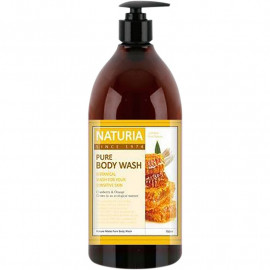 Гель для душа NATURIA МЕД, ЛИЛИЯ PURE BODY WASH Honey & White Lily 750 мл