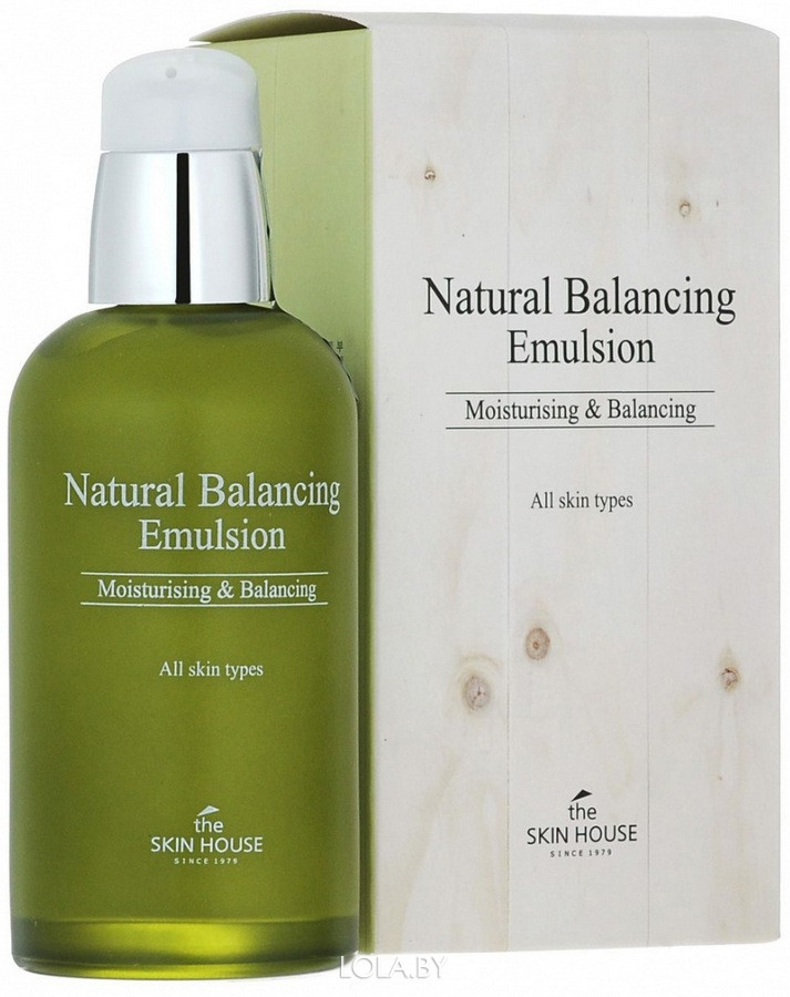 Балансирующая эмульсия The Skin House Natural Balancing 130мл
