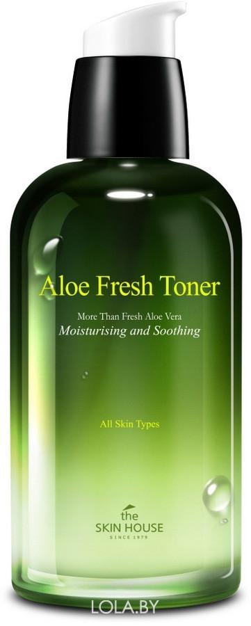 Увлажняющая и успокаивающая сыворотка The Skin House с экстрактом алоэ Aloe Fresh 50мл