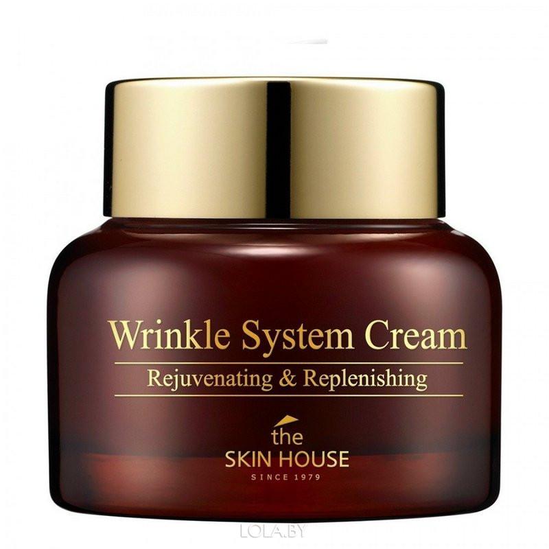 Антивозрастной питательный крем The Skin House с коллагеном Wrinkle System 50г