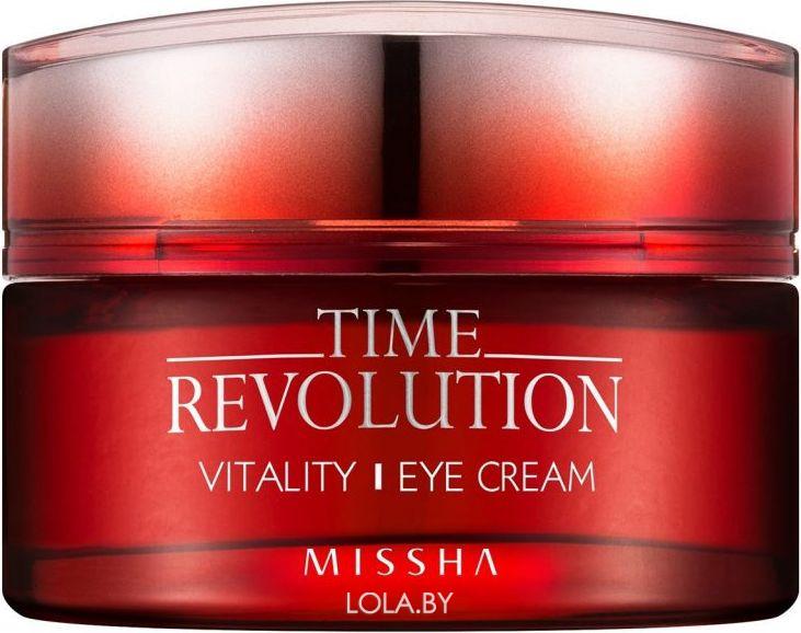Антивозрастной крем для области вокруг глаз MISSHA Time Revolution Vitality Eye Cream 25 мл