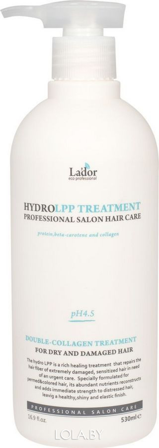 Маска для волос Lador восстанавливающая Eco Hydro Lpp Treatment 530мл