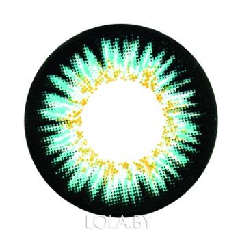 Цветные линзы HERA Elite Aqua на 3мес. от 0 до -8дптр (2шт)