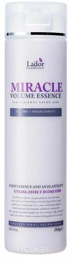 Увлажняющая эссенция Lador для фиксации и объема волос Miracle volume essence 250 гр