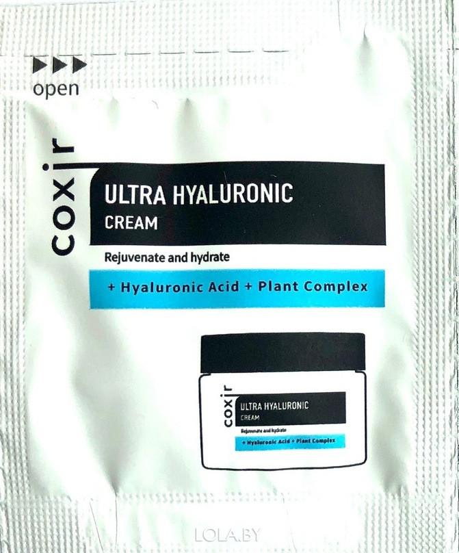 ПРОБНИК Крем COXIR увлажняющий с гиалуроновой кислотой 2мл