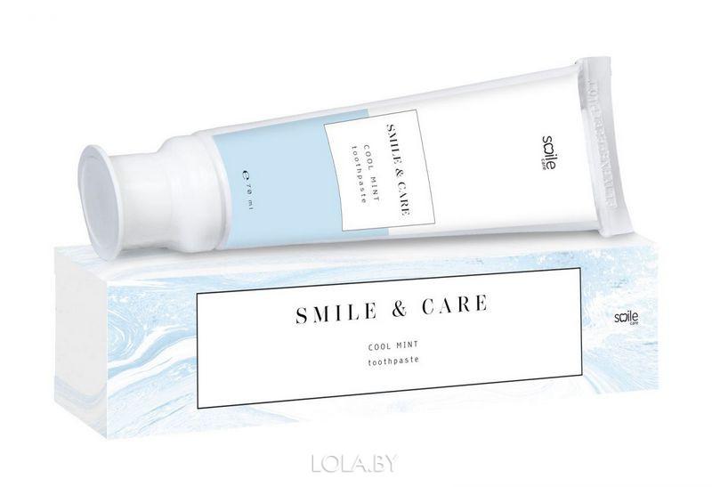 Зубная паста Smile Care освежающая мята 70 мл