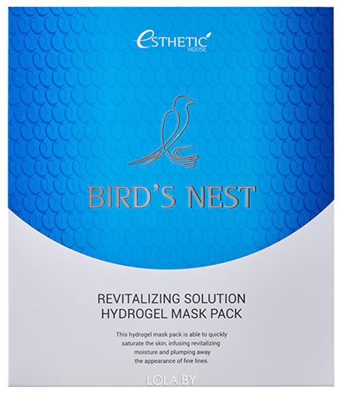 Гидрогелевая маска для лица Esthetic House BIRD'S NEST REVITALIZING 1 шт