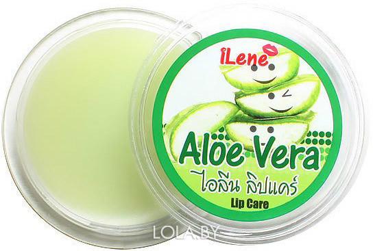 Бальзам для губ ILENE Алое вера Aloe vera 10 гр