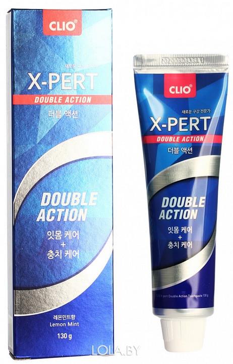 Зубная паста CLIO Expert Toothpaste Double Action 130гр