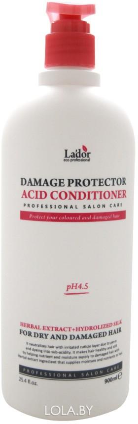 Кондиционер LADOR для поврежденных волос damaged protector acid conditioner 900мл