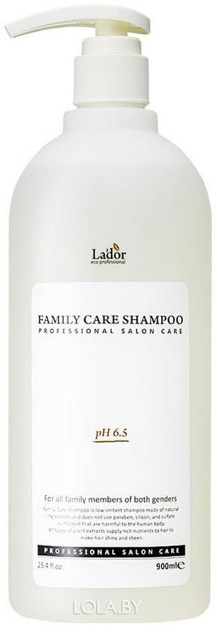 Шампунь для волос LADOR Family Care Shampoo 900мл