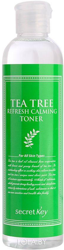 Тоник для лица SECRET KEY чайное дерево Tea Tree Refresh Calming Toner 248мл