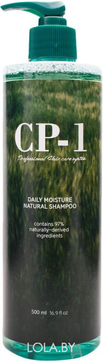 Натуральный увлажняющий шампунь для волос ESTHETIC HOUSE CP-1 Daily Moisture Natural Shampoo 500 мл