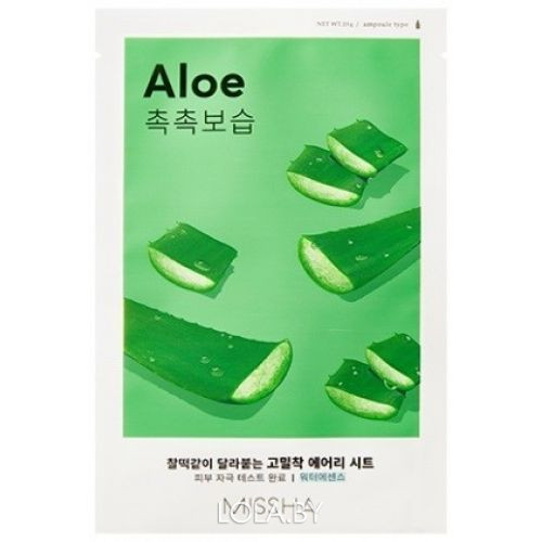 Маска для лица MISSHA Airy Fit Sheet Mask Aloe