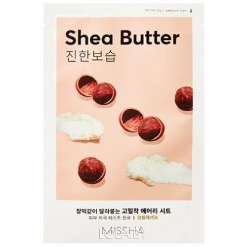 Маска для лица MISSHA Airy Fit Sheet Mask Shea Butter