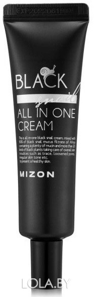 Крем Mizon Black Snail All In One Cream 35 мл