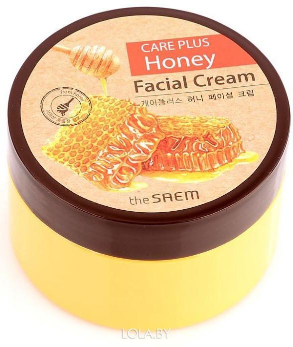 Крем для лица SAEM медовый CARE PLUS Honey Facial Cream 200мл
