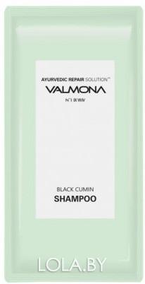 ПРОБНИК Шампунь для волос VALMONA АЮРВЕДА Ayurvedic Scalp Solution Black Cumin Shampoo 10мл