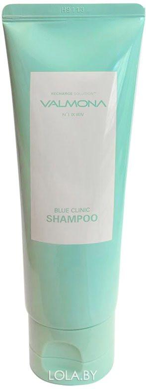 Шампунь для волос VALMONA УВЛАЖНЕНИЕ Recharge Solution Blue Clinic Shampoo 100 мл