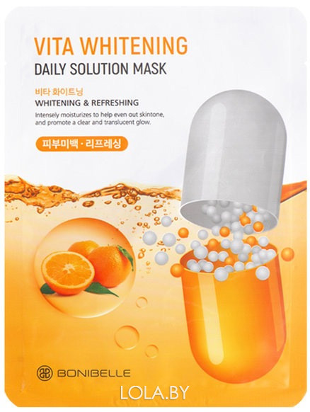 Тканевая маска Bonibelle Vita Whitening Daily Solution Mask