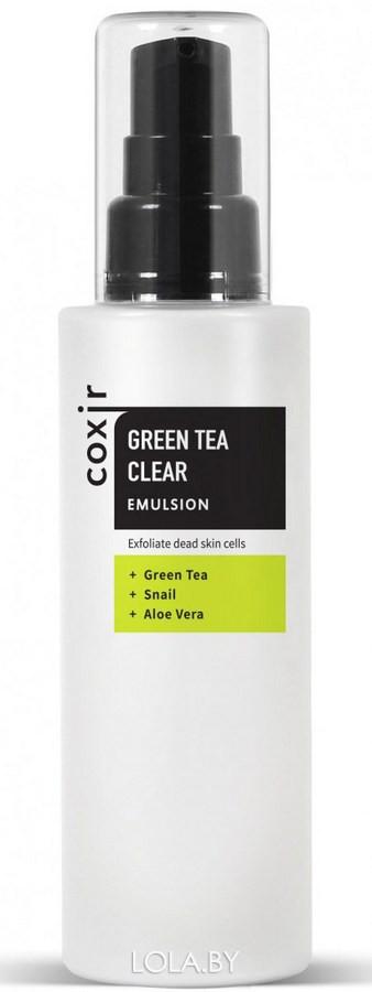 Эмульсия COXIR с зеленым чаем 100мл