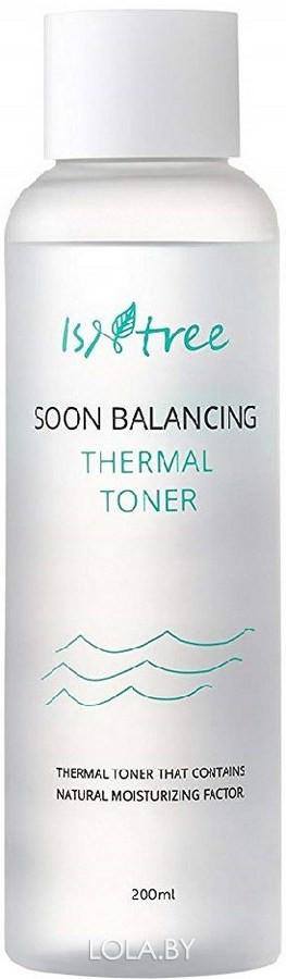 Тонер Isntree для чувствительной кожи SENSITIVE BALANCING THERMAL TONER 200 мл