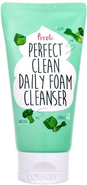 Пенка для умывания PRRETI Perfect Clean Daily Foam Cleanser 150 гр