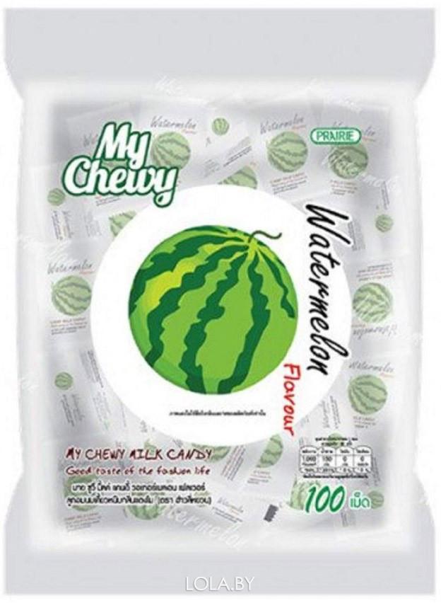 Молочные конфеты MY CHEWY с арбузом 67 гр