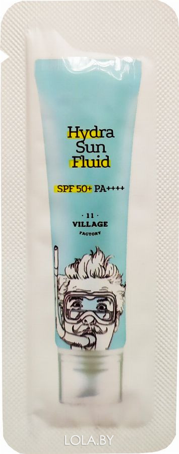 ПРОБНИК Солнцезащитный крем Village 11 Factory Hydra Sun Fluid SPF50+ PA++++ 1,5 мл