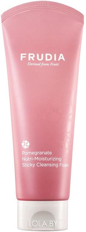 Питательная пенка-суфле Frudia с гранатом Pomegranate Nutri-Moisturizing Sticky Cleansing Foam