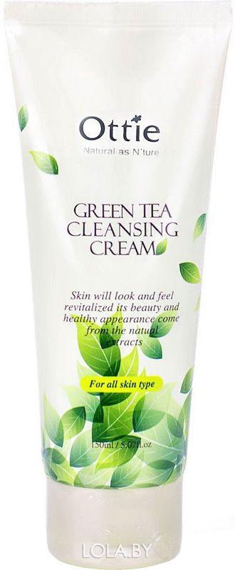 Крем для умывания OTTIE Green Tea Cleansing Cream 150 мл