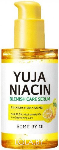 Cыворотка SOME BY MI YUJA NIACIN 30 DAYS BLEMISH CARE SERUM 50 мл