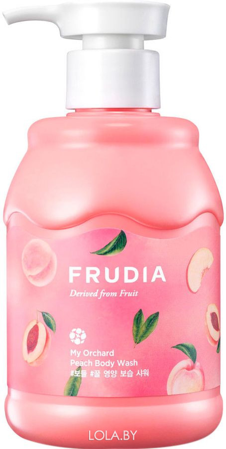 Гель для душа Frudia с персиком My Orchard Peach Body Wash 350 мл