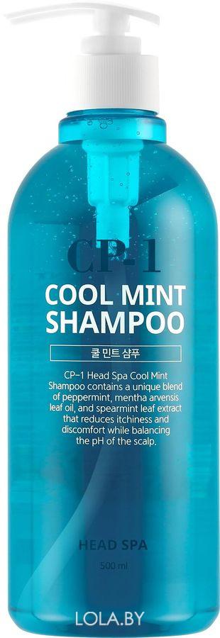 Шампунь для волос Esthetic House ОХЛАЖДАЮЩИЙ CP-1 HEAD SPA COOL MINT SHAMPOO 500 мл
