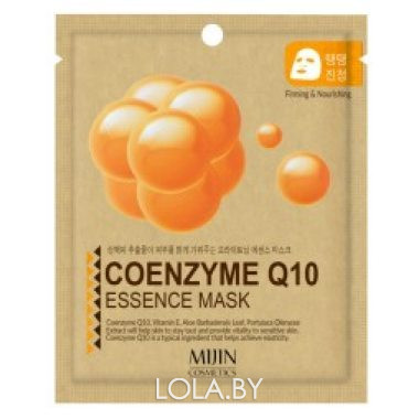 Тканевая маска для лица MIJIN Coenzyme Q10 Essence Mask (коэнзим)