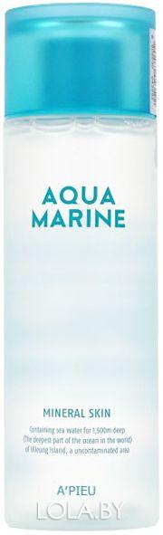 Тоник для лица A'pieu минеральный увлажняющий Aqua Marine Mineral Toner