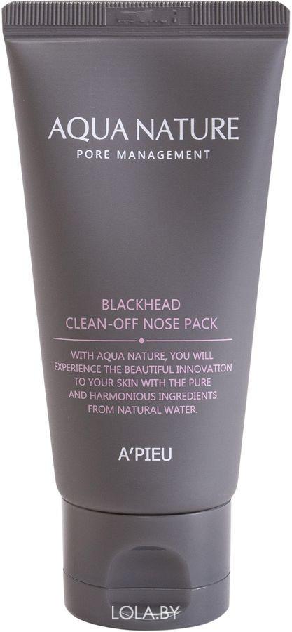 Маска для лица A'pieu Aqua Nature Blackhead Clean-Off Nose Pack