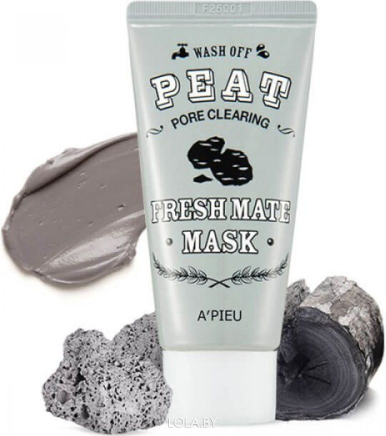 Маска для лица A'pieu для очищения пор Fresh Mate Peat Mask Pore Clearing