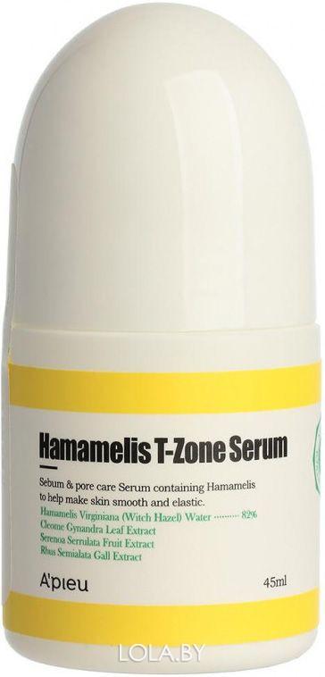 Сыворотка A'pieu для Т-зоны с гамамелисом Hamamelis T-Zoneerum 45мл