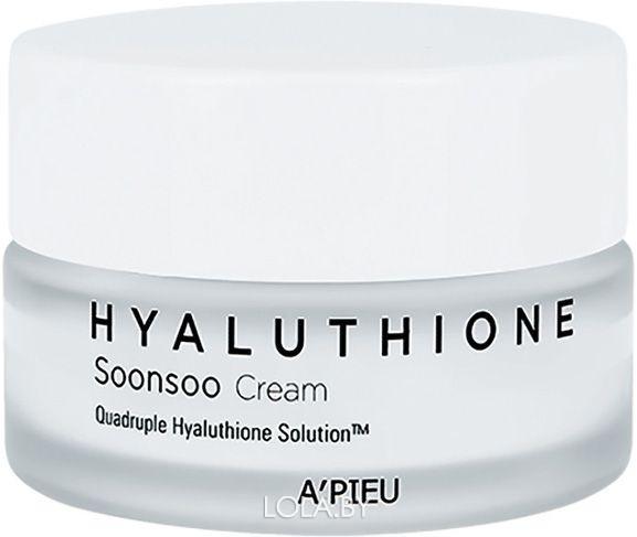 Крем для лица A'pieu глубокоувлажняющий Hyaluthioneoonsoo Cream