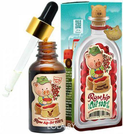 Масло Elizavecca для лица и тела farmer piggy rose hip oil 100%